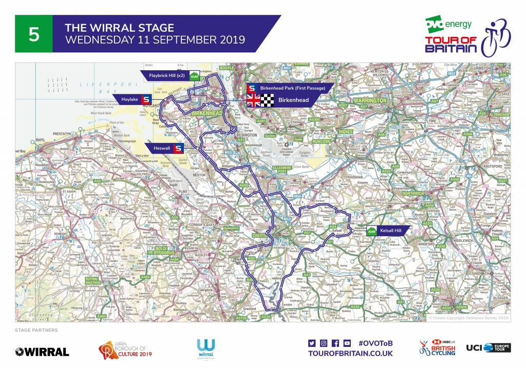 Tour of Britain stage five