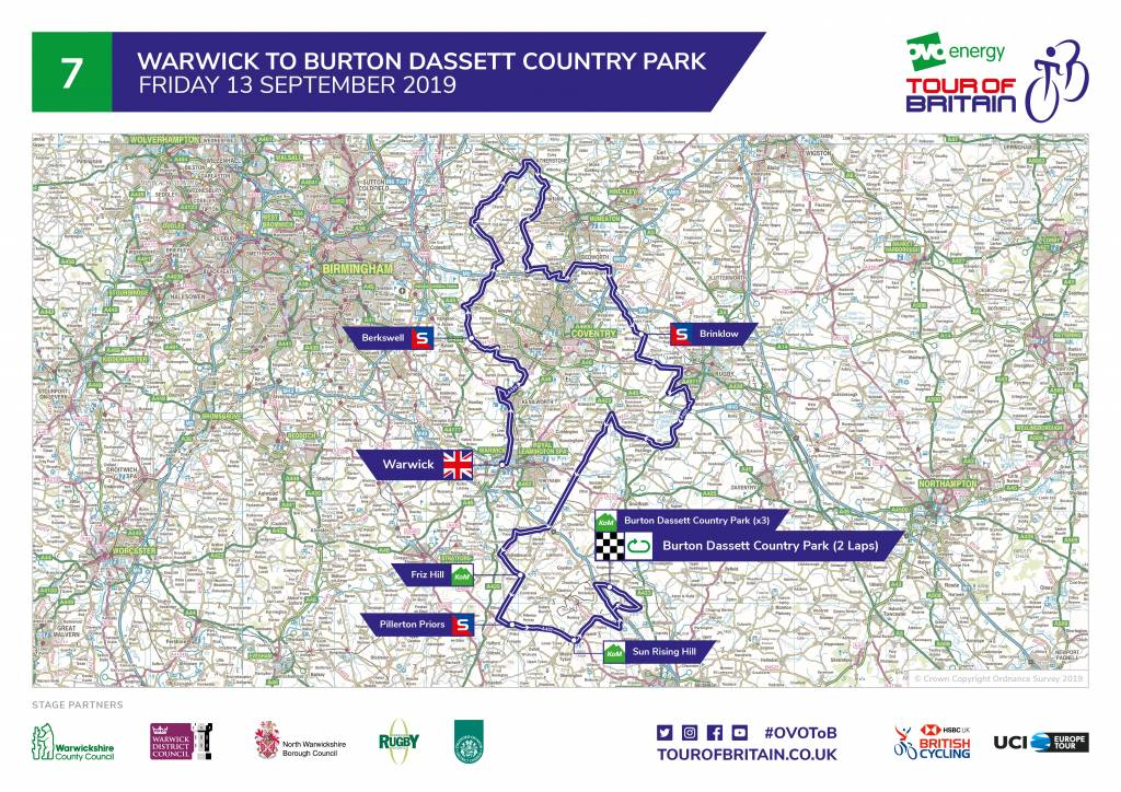 Tour of Britain stage seven