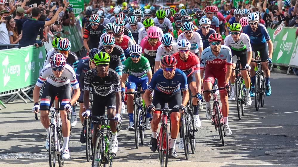 Tour of Britain riders