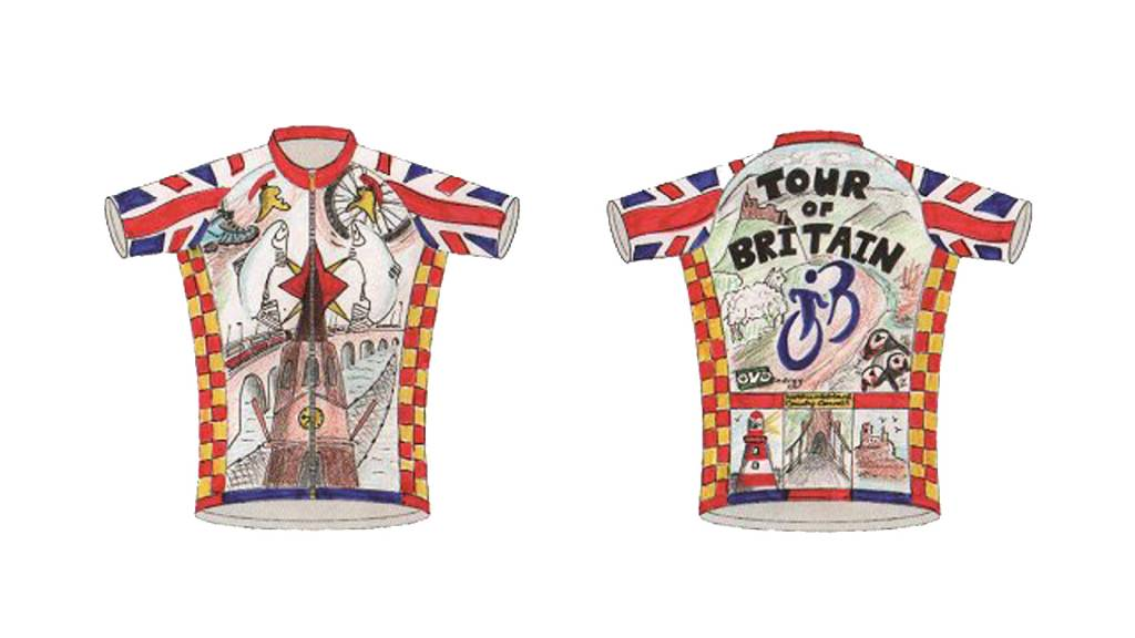 Tour of Britain Northumberland jersey