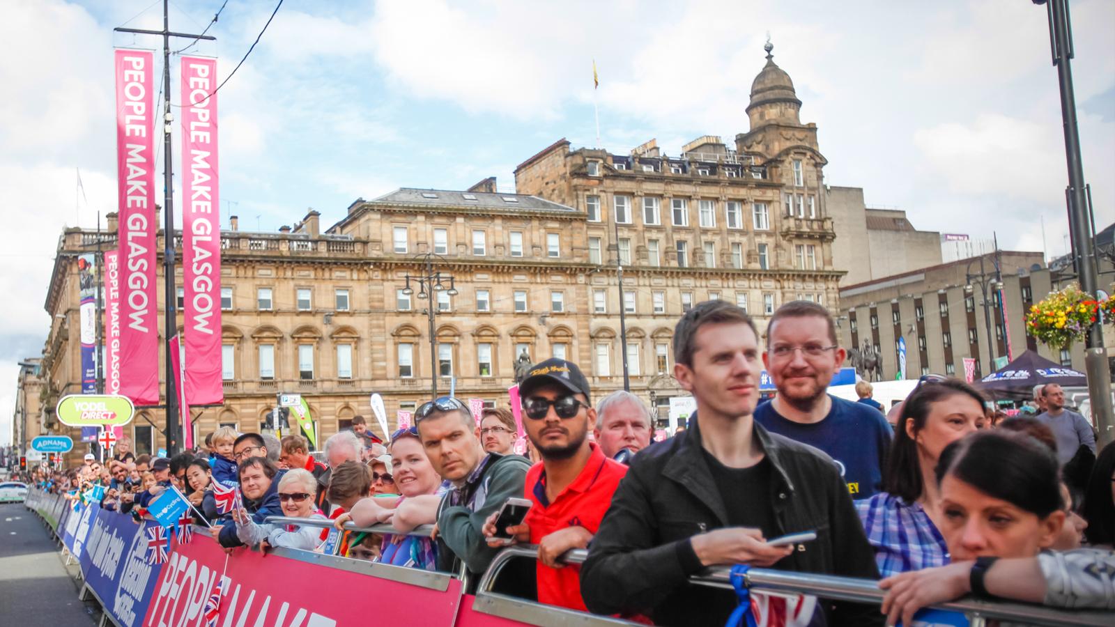 Tour of Britain stage one Glasgow