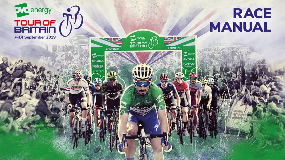 Tour of Britain race manual