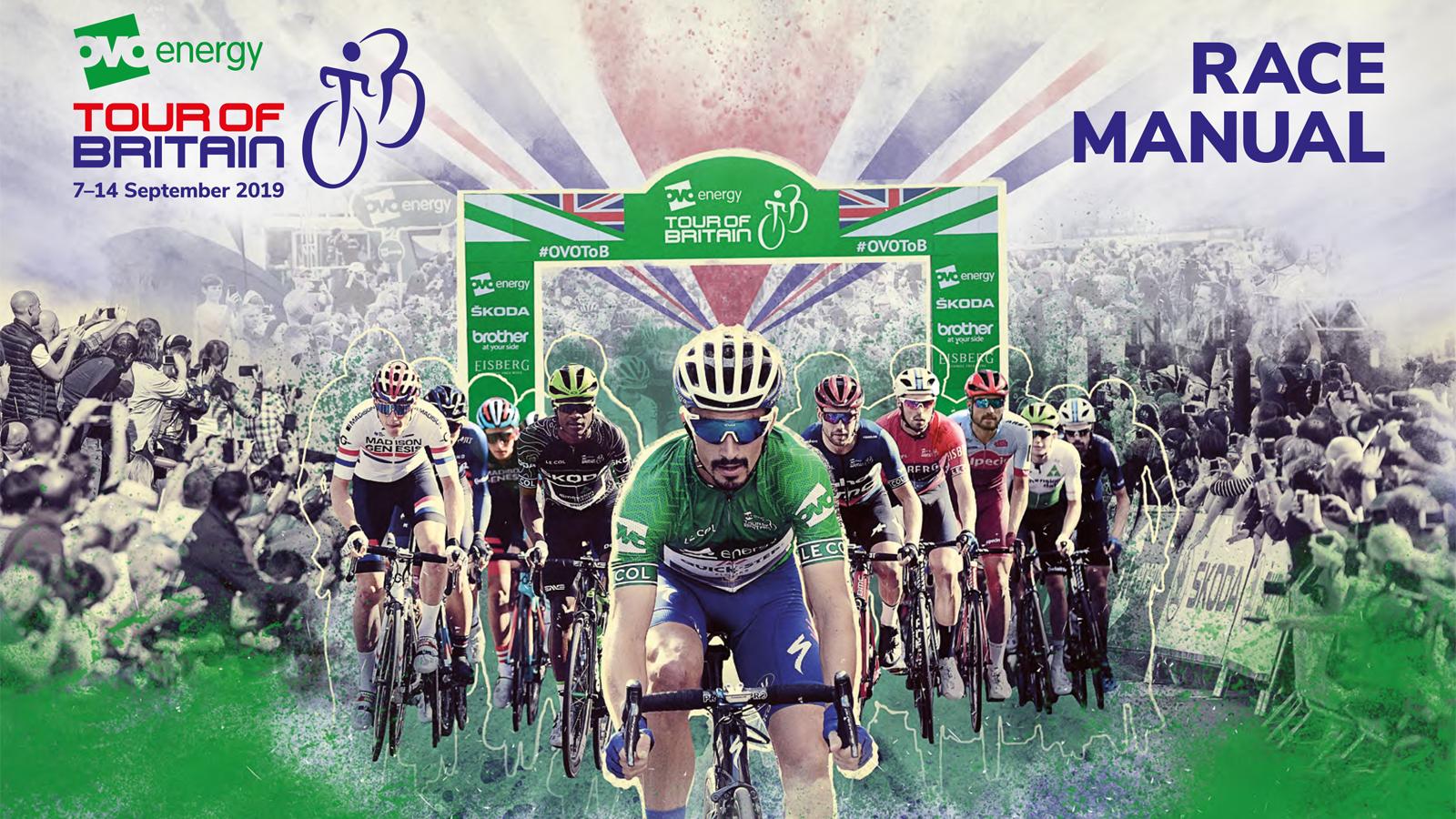 Tour of Britain race manual
