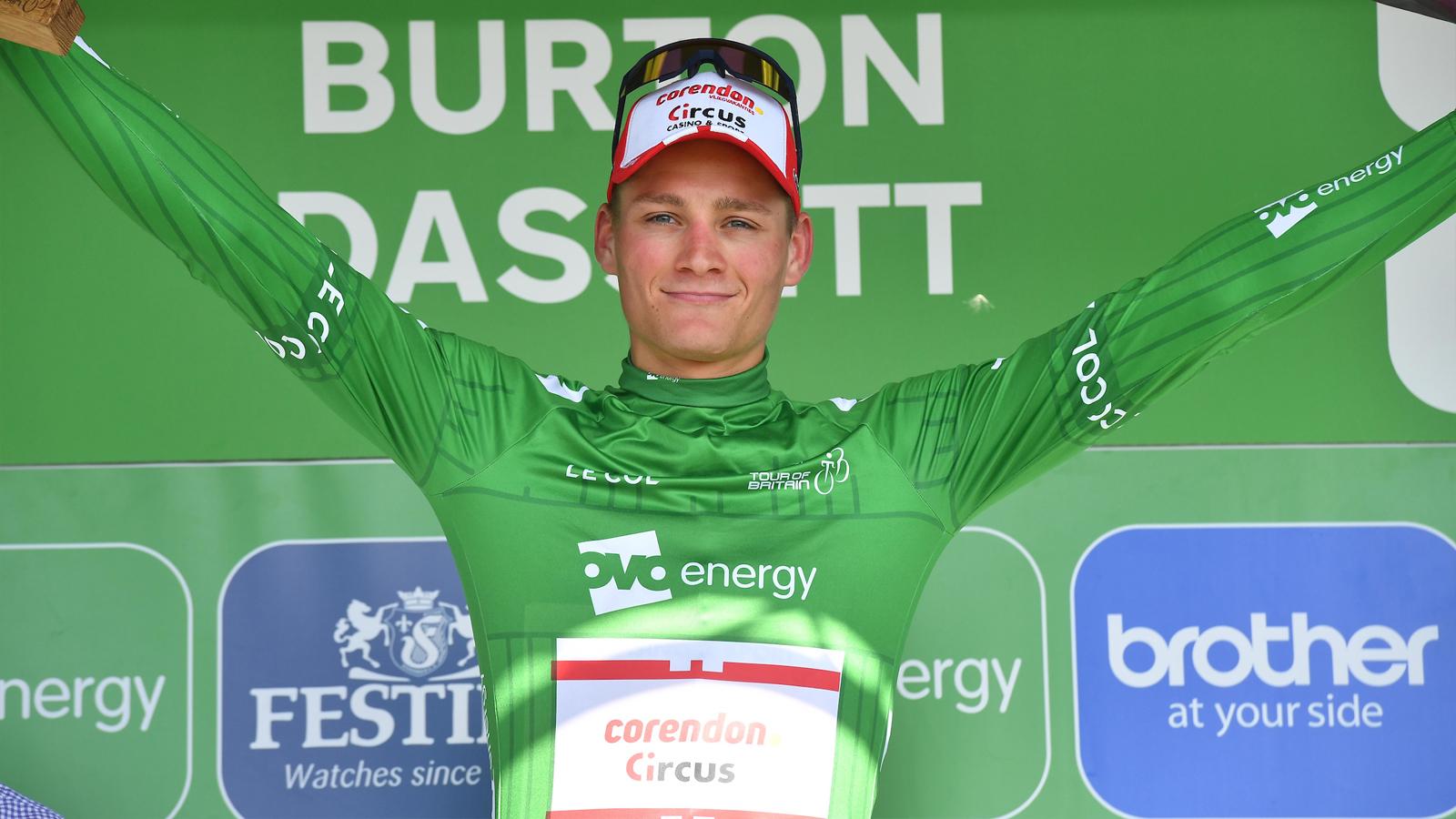 Mathieu van der Poel Tour of Britain stage eight