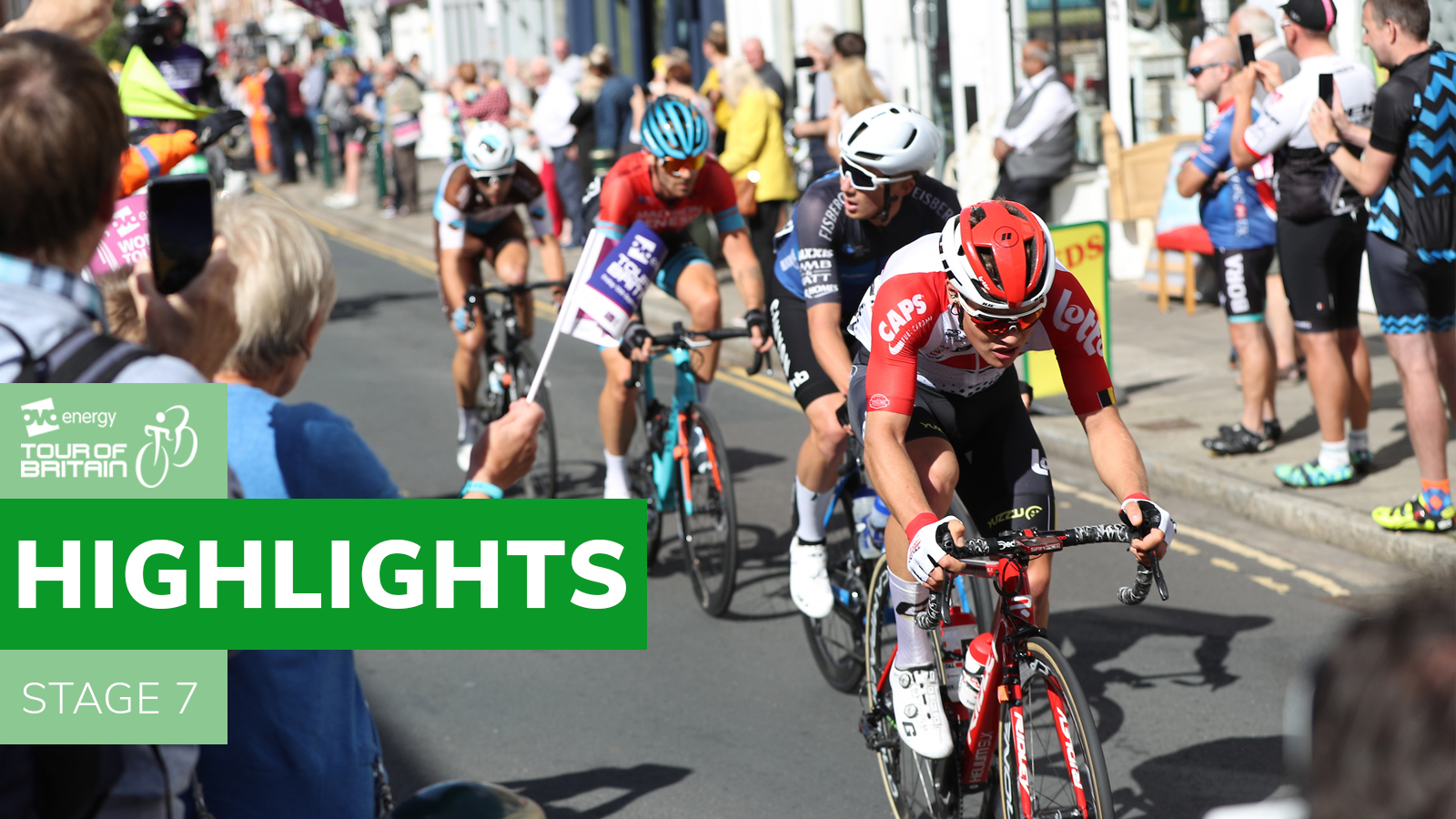 Tour of Britain highlights