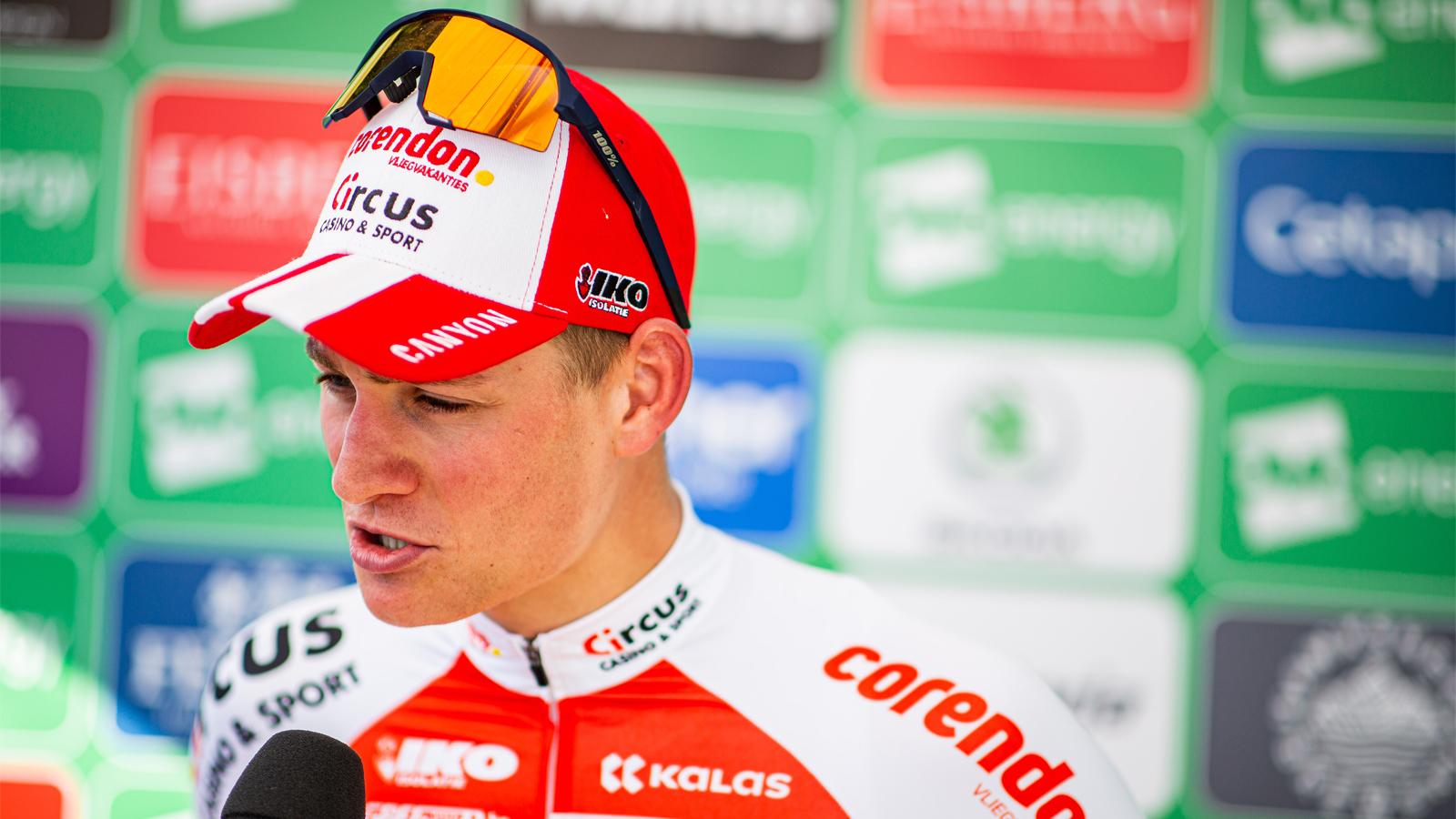 Mathieu van der Poel Tour of Britain stage seven