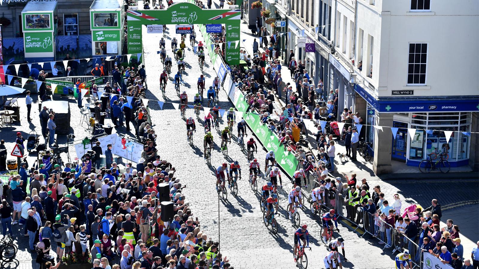 Tour of Britain 2020 race dates