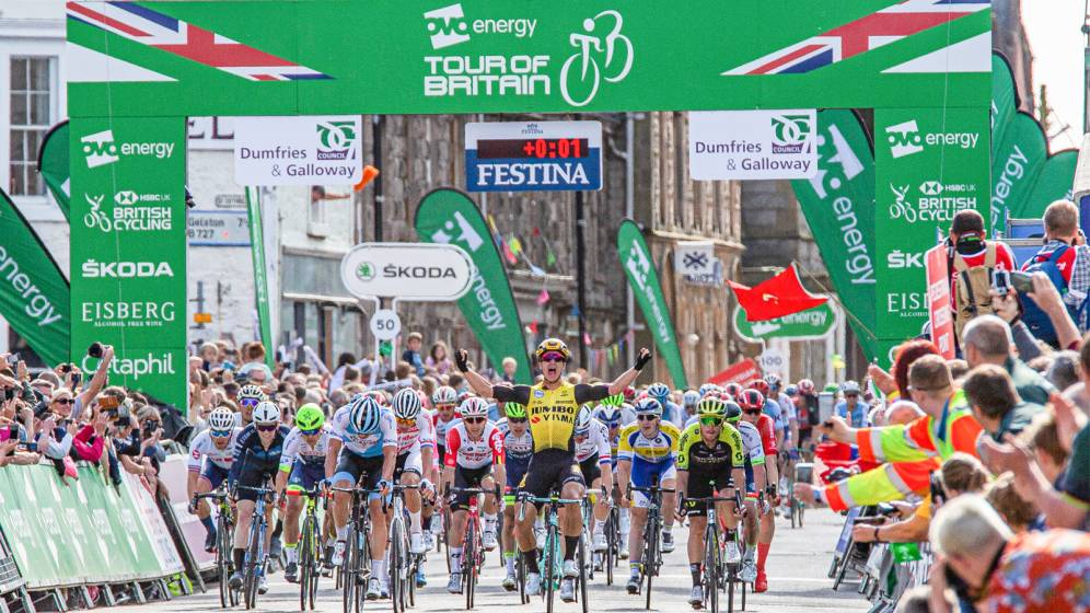 Tour of Britain title partner