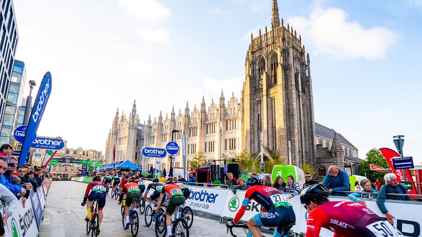 Aberdeen and Aberdeenshire announce two-year deal to host Tour of Britain - OVO Energy Tour of Britain