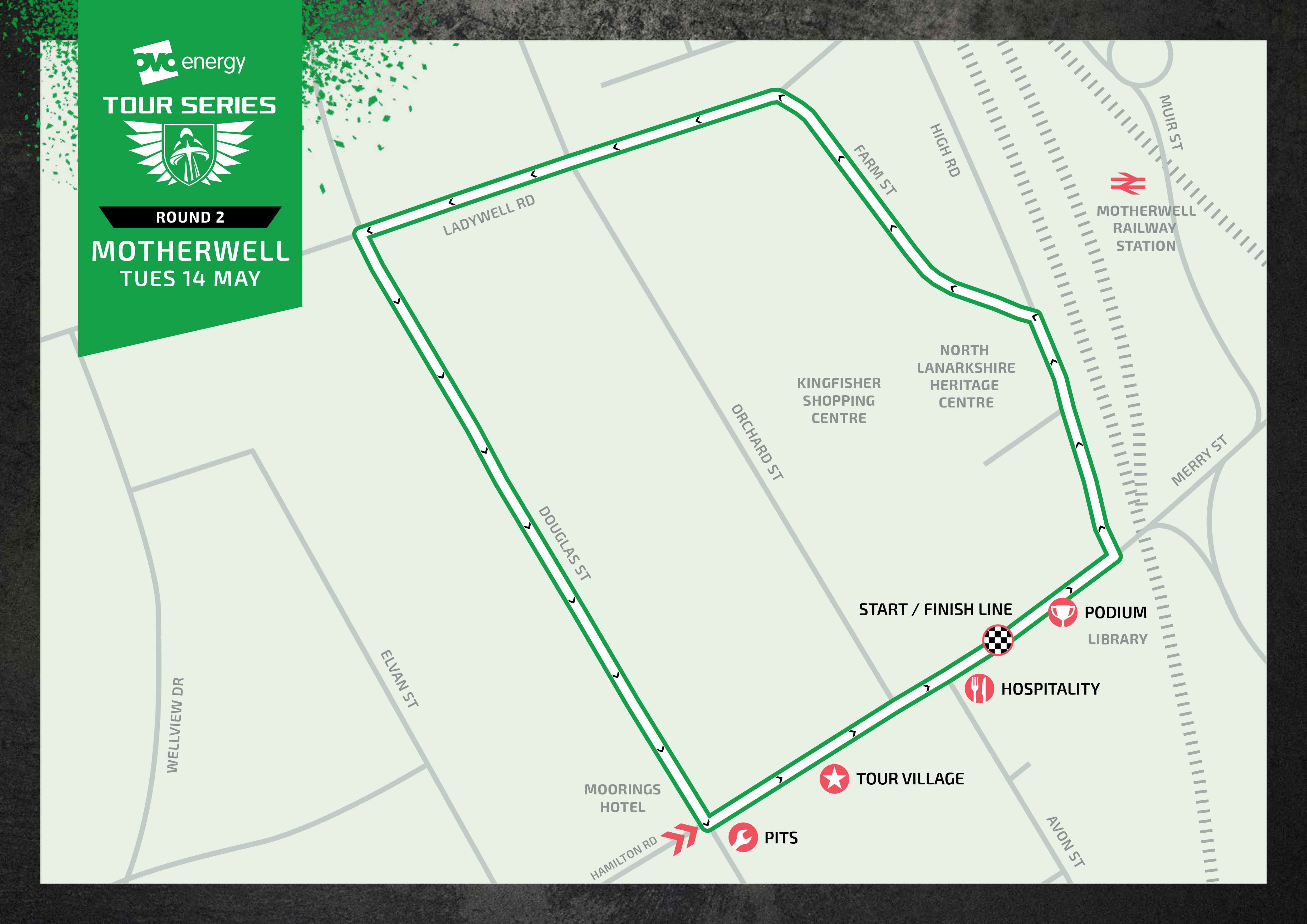 Motherwell Tour Series circuit