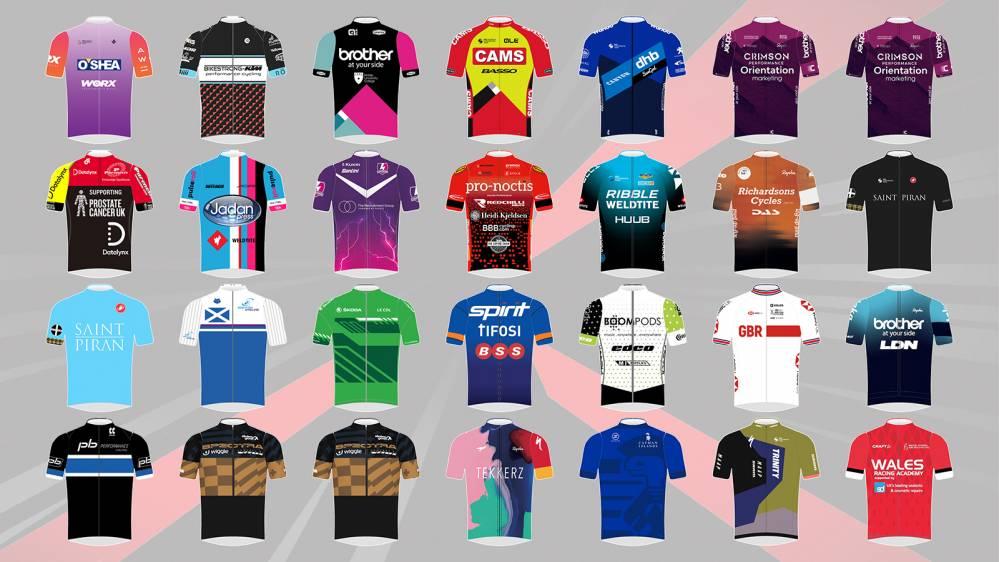 Tour Series 2021 teams