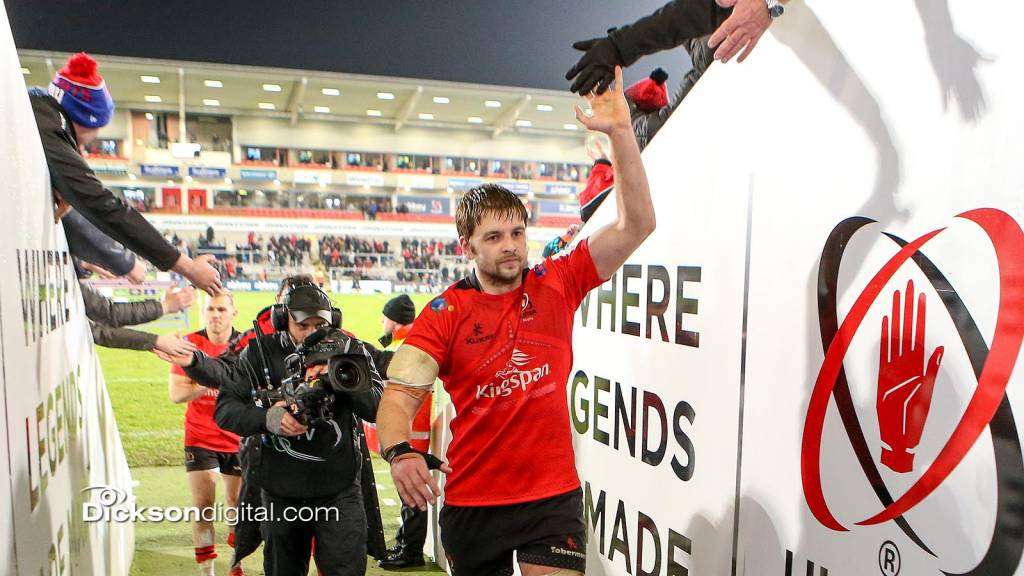 Henderson announced as Ulster captain