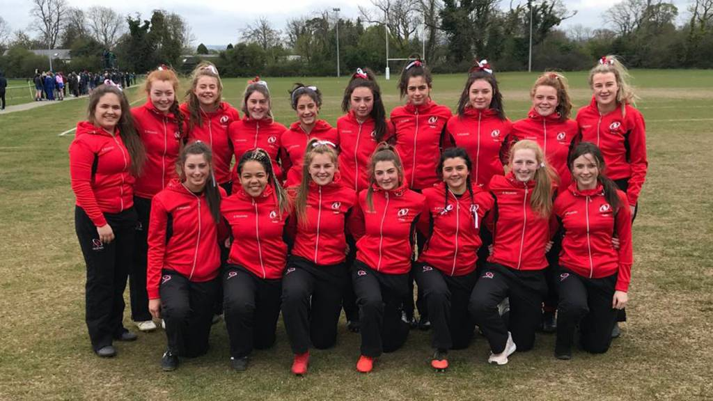 Ulster U18 Girls 7s have strong inter-pro campaign