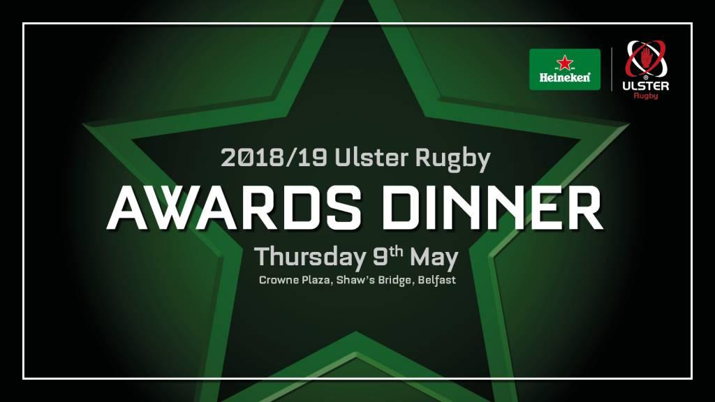 Shortlist revealed for Heineken Ulster Rugby Awards