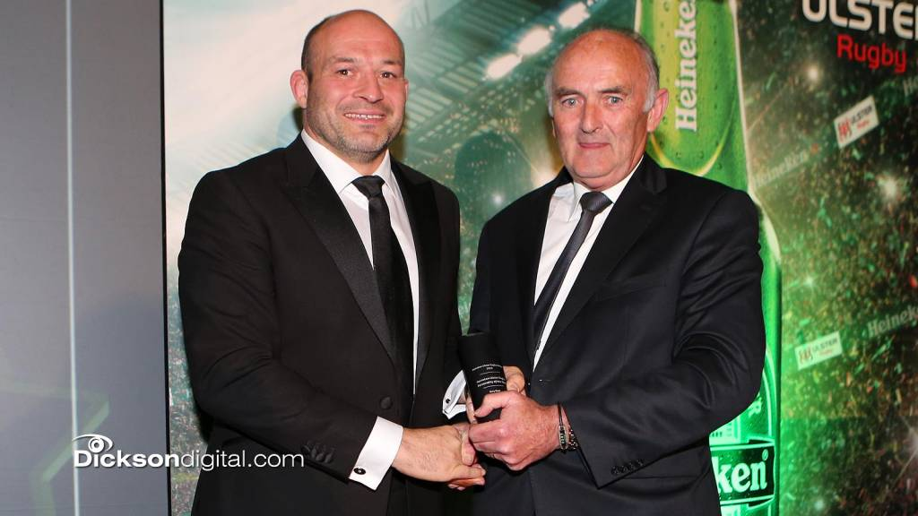 Best wins Heineken Personality of the Year at Ulster Rugby Awards Ceremony