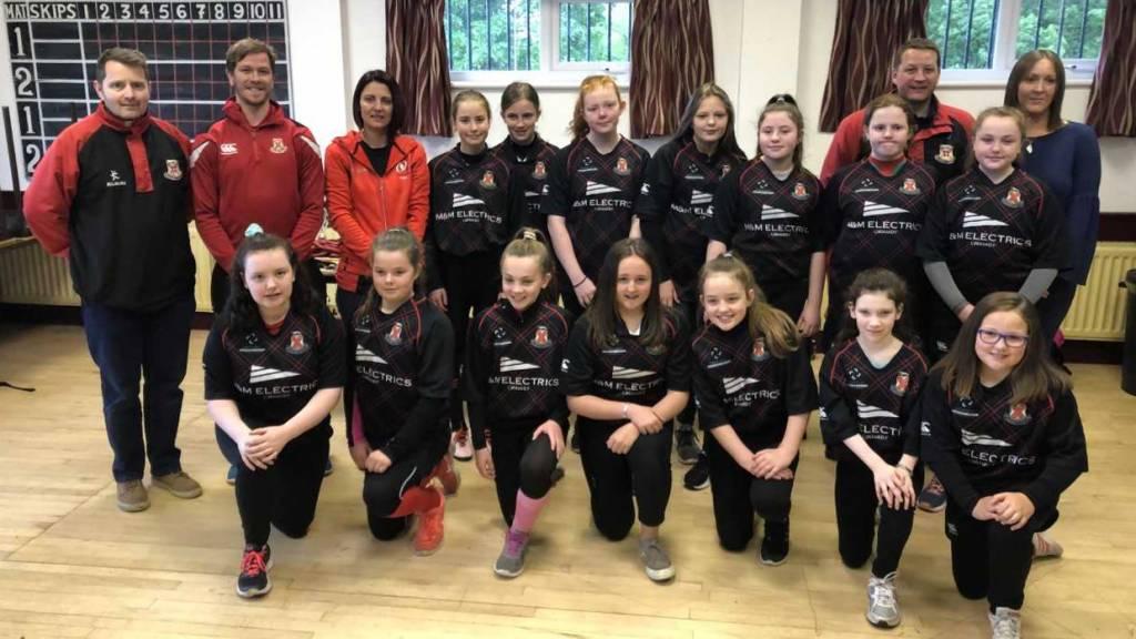 Limavady RFC win Girls Youth Clubs' Club of the Year Award