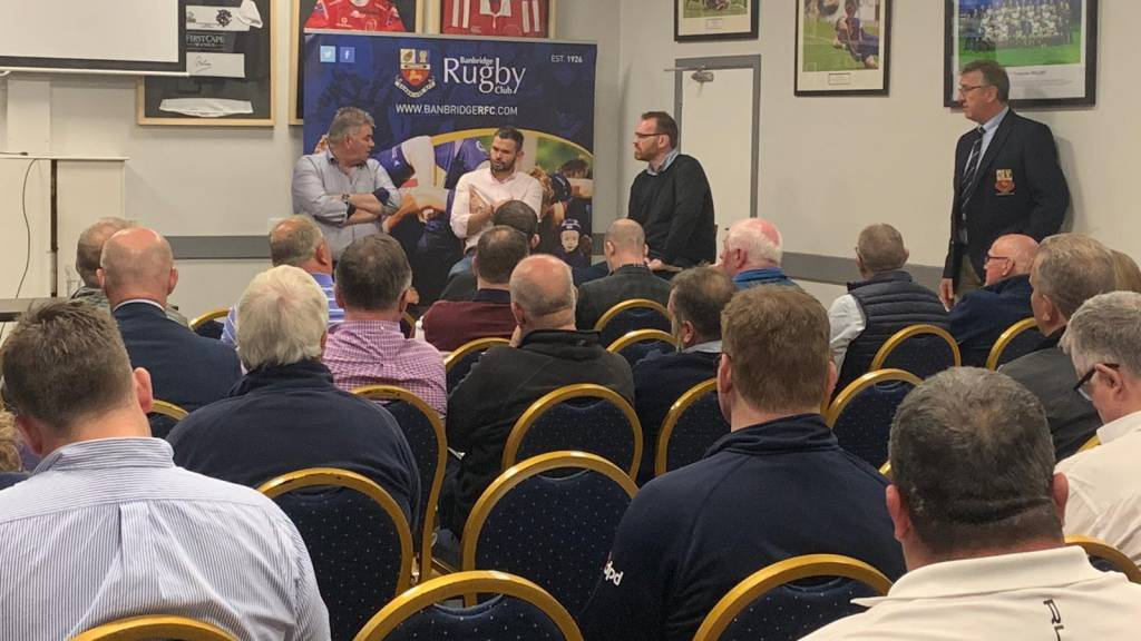 Clubs gather for Sponsorship Evening