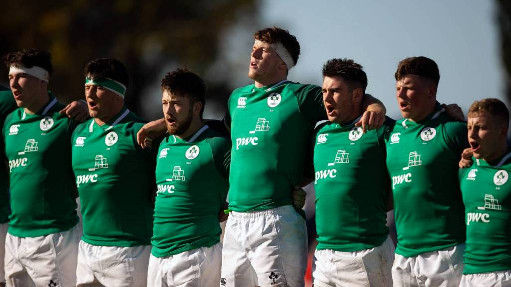 Ireland U20 team named to play Australia