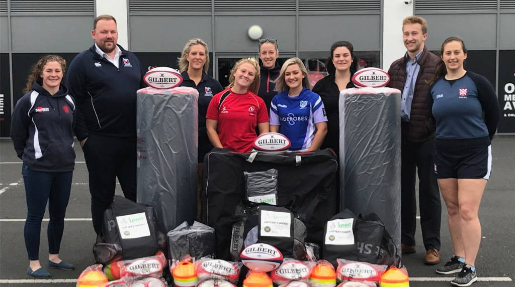 Belfast City Council provide equipment for female rugby clubs