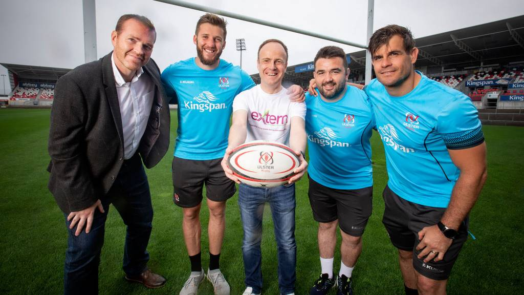 Extern announced as Ulster Rugby's charity partner