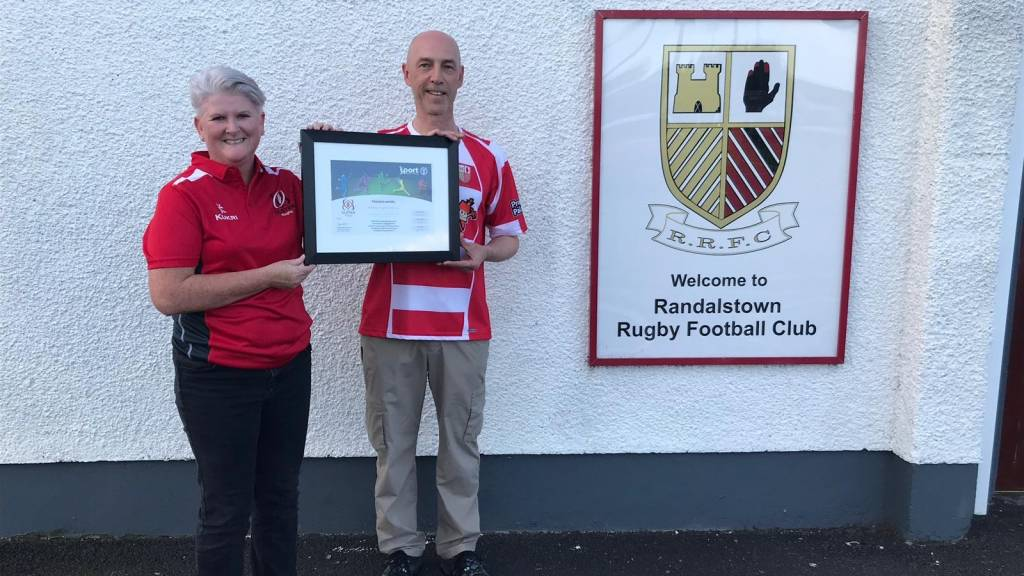 Clubmark Accreditation for Randalstown RFC