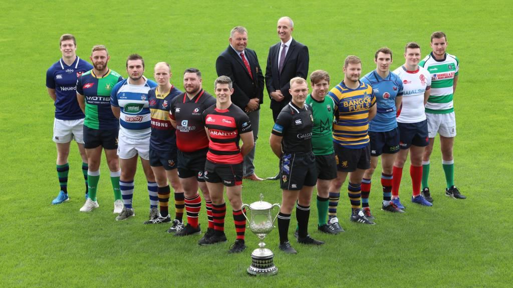 Bank of Ireland Senior Cup set for kick-off