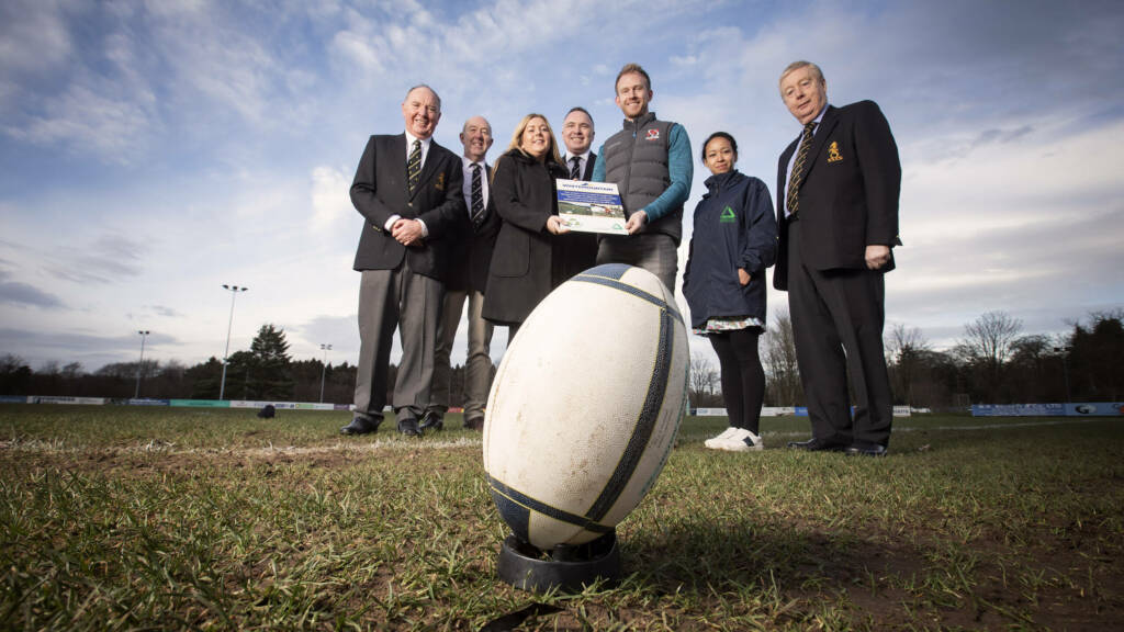 Upgraded floodlights for Cooke and Instonians through Whitemountain Programme