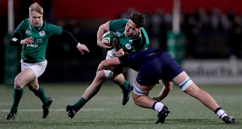 Four Ulster players named in Ireland U20s team to face England