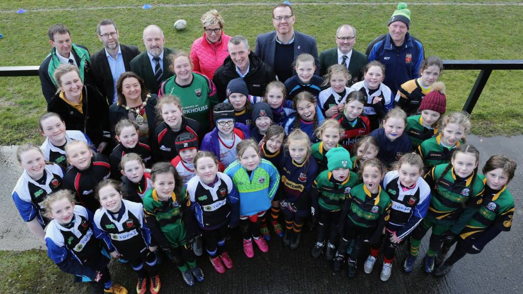 Celebration of Women and Girls' Rugby on International Women's Day