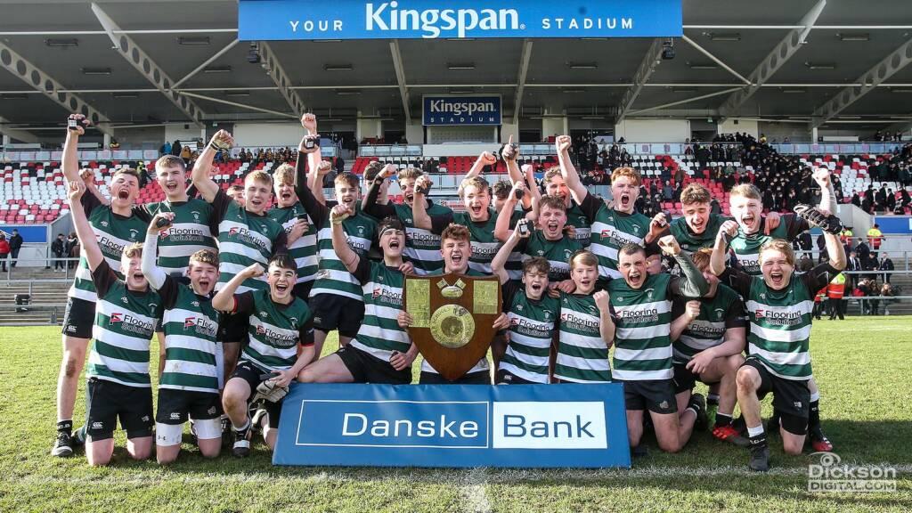 Campbell College Belfast win the Danske Bank Ulster Schools' Medallion Shield