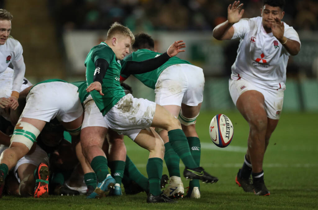 Abbey Insurance Ulster Rugby Academy squad for 2020/21 season is named