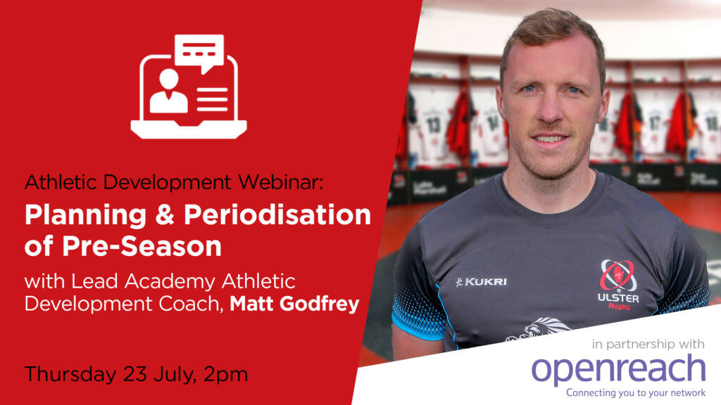 Club and School Webinar: Planning & Periodisation of Pre-Season