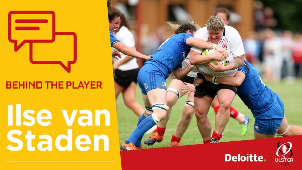 Behind the Player: Ilse van Staden