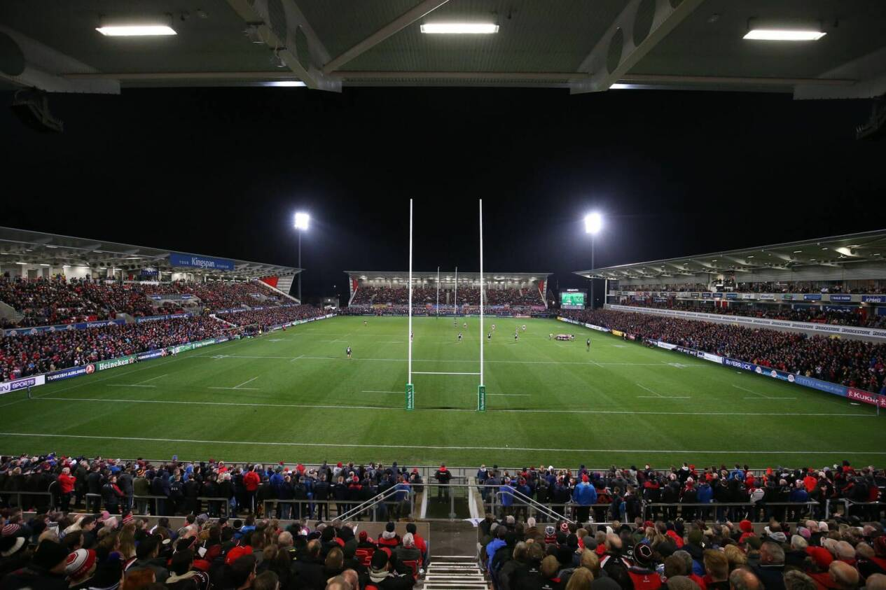 Live: Ulster Rugby v Dragons
