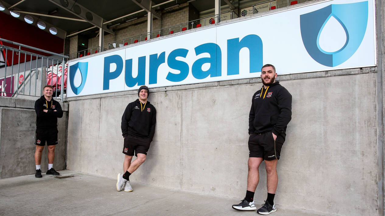 Pursan announced as Ulster Rugby's official Hygiene Partner