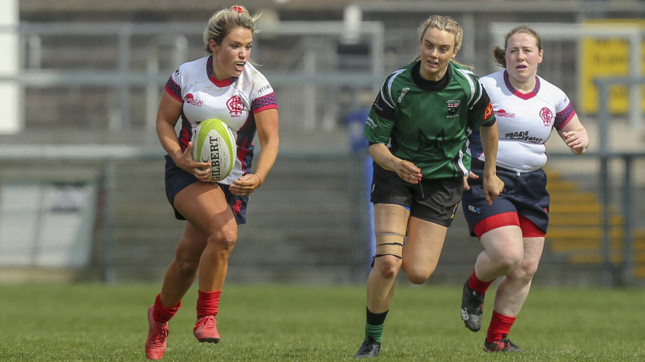 Peita McAlister makes history as Malone RFC's first female Club Captain