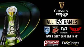 Premier Sports to show every Guinness PRO14 game