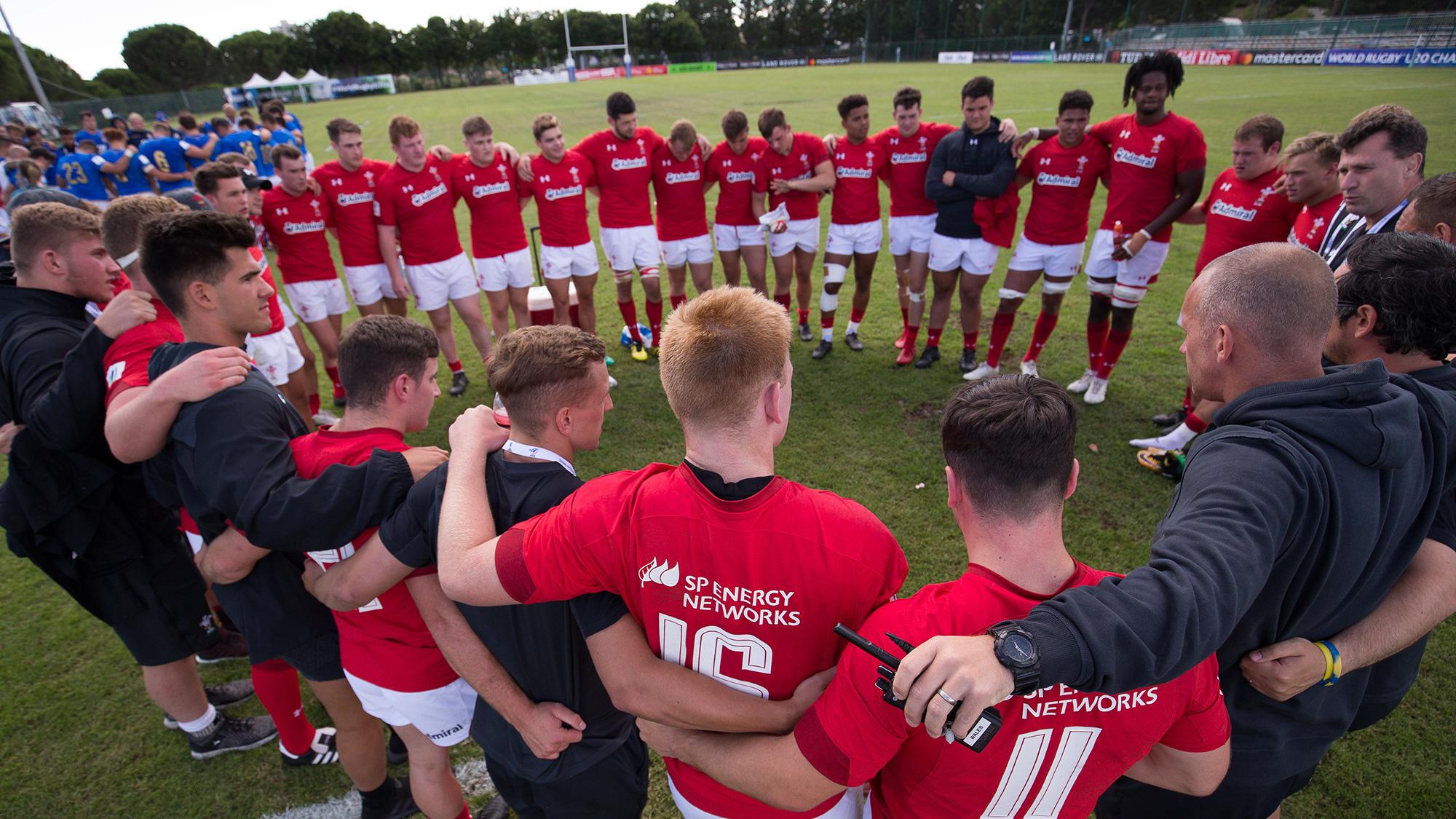 Welsh Rugby Union   Wales & Regions   Wales U20 News