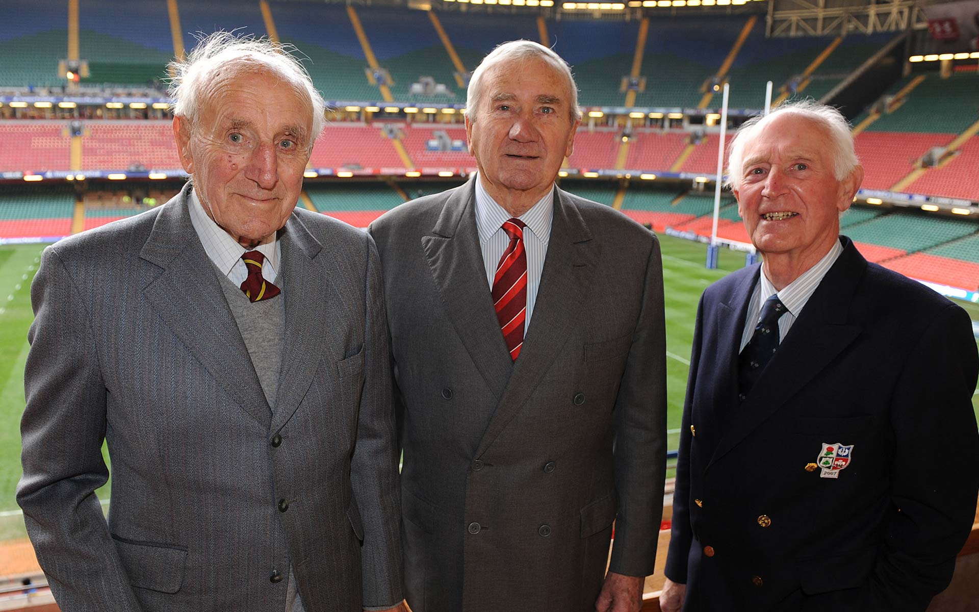 Former Wales Captain celebrates 90th
