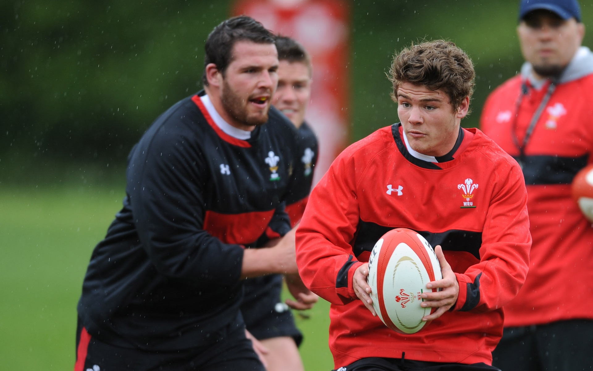 Lewis' inside track on the Wales camp