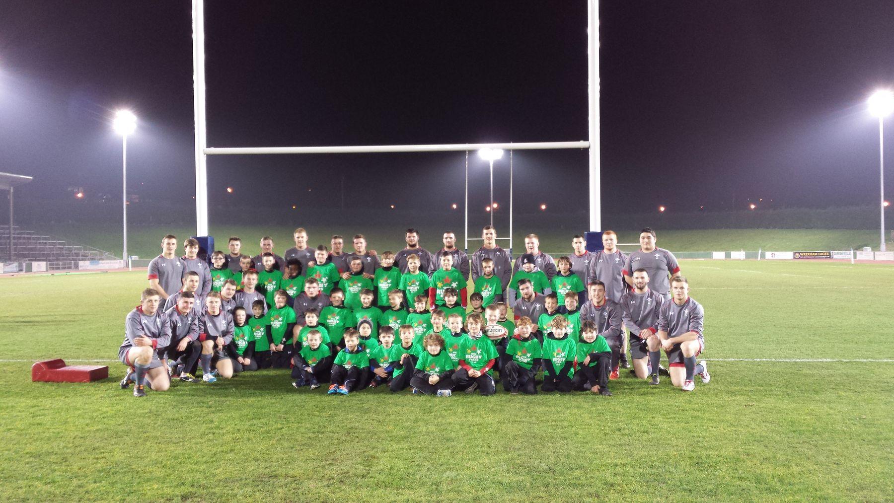 WRU Rugby Stars meet Wales Under 20