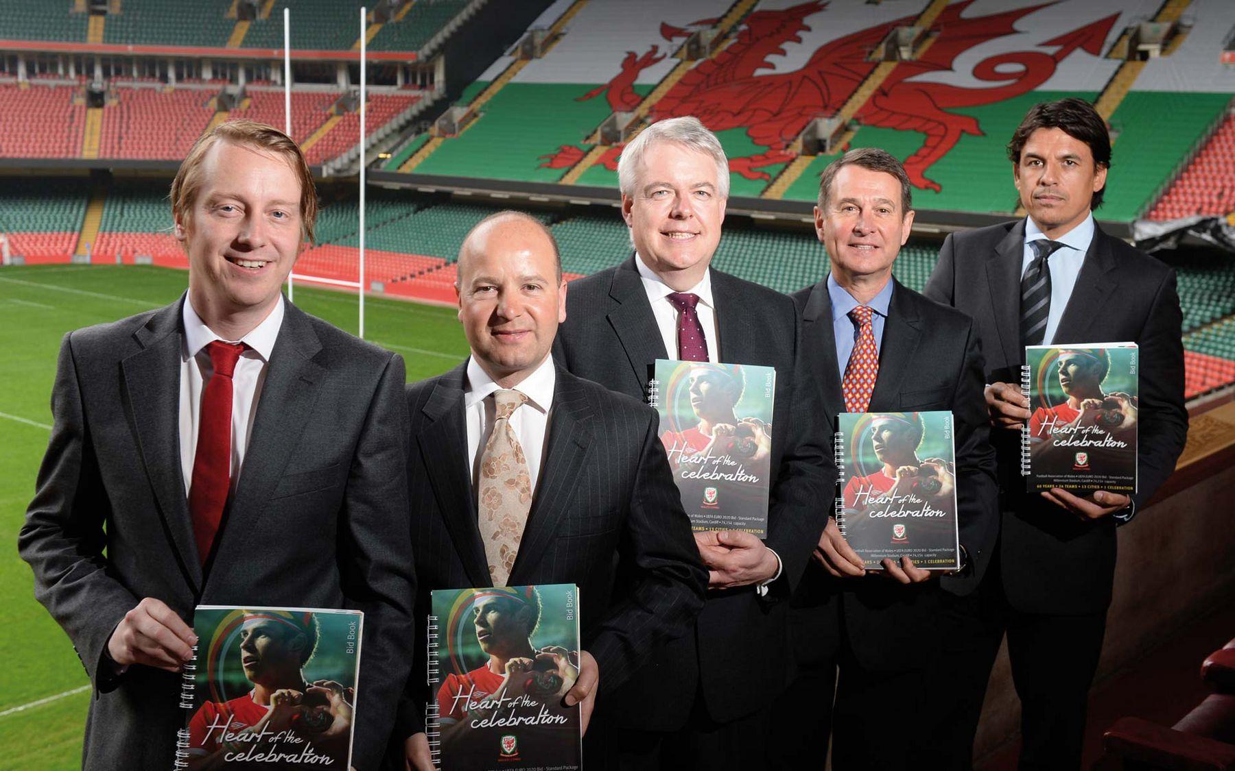 FAW unveils UEFA EURO 2020 bid
