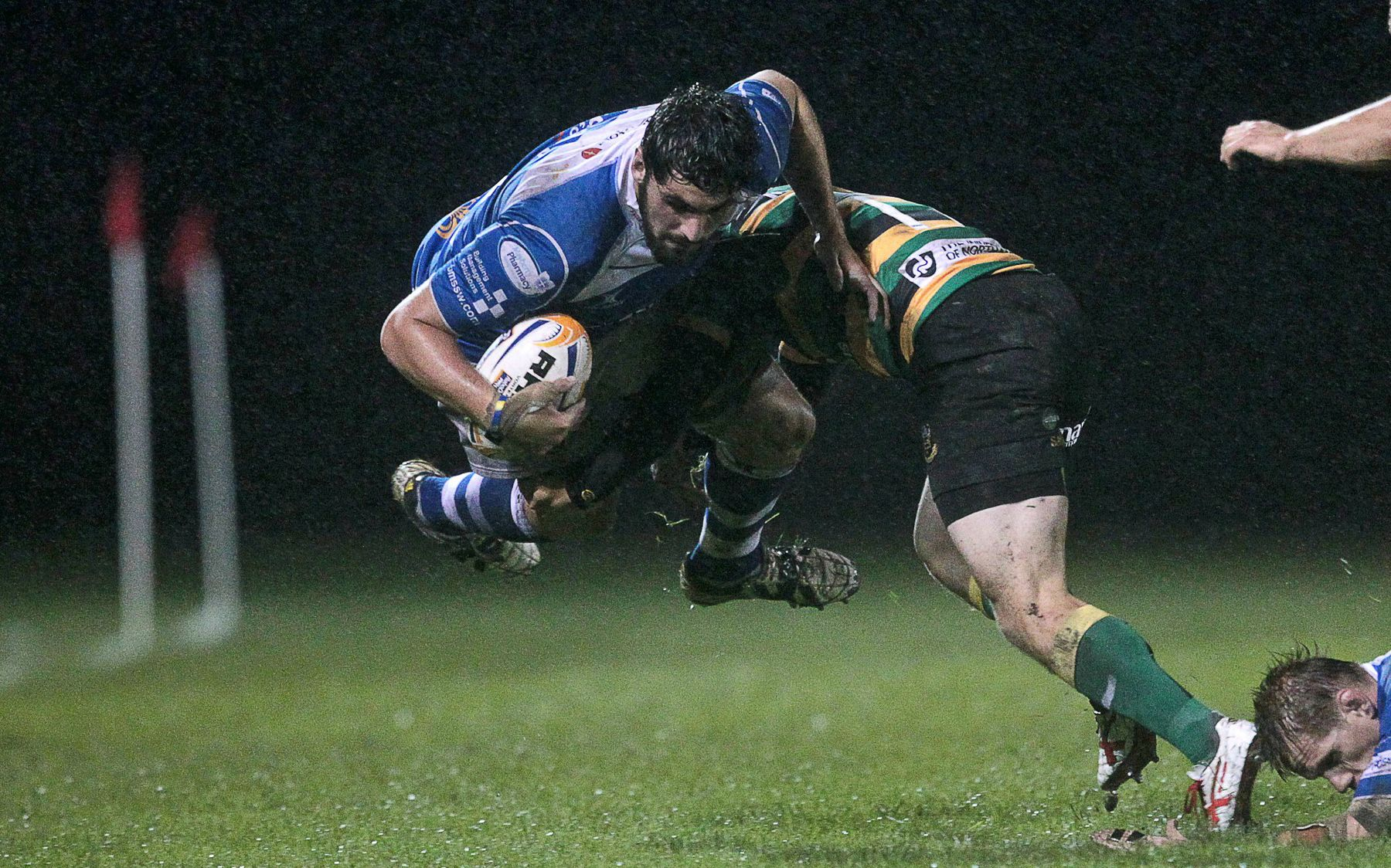 Dragons too hot for Saints