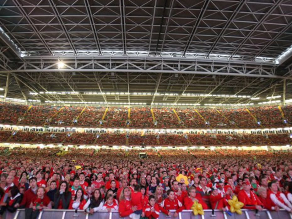 The Millennium Stadium by Kieran Moon