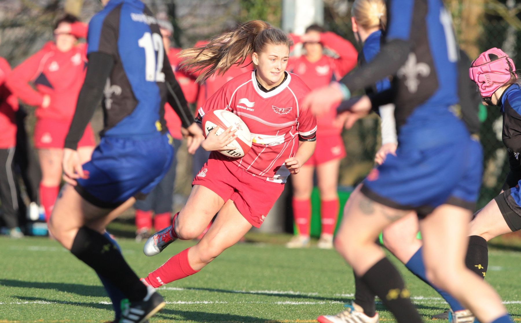 Rampant Scarlets off to a flier