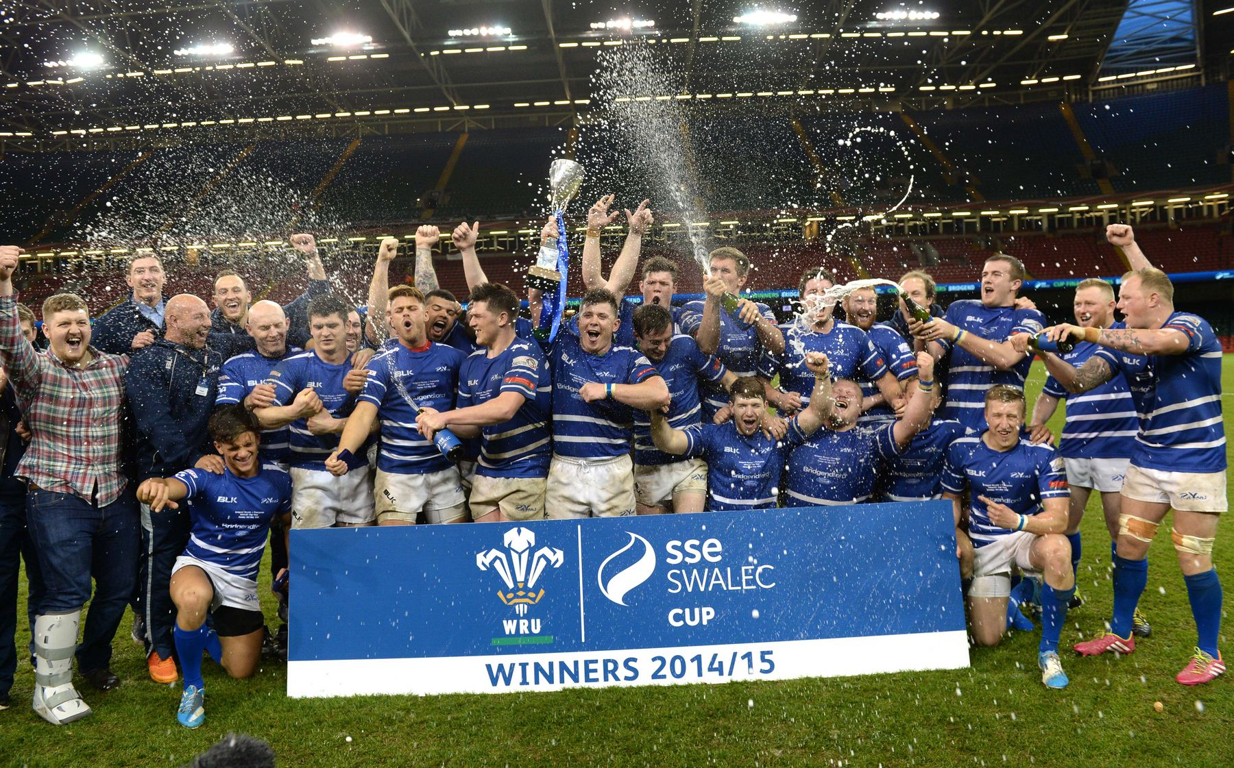 Bridgend travel to Beddau to launch Cup defence