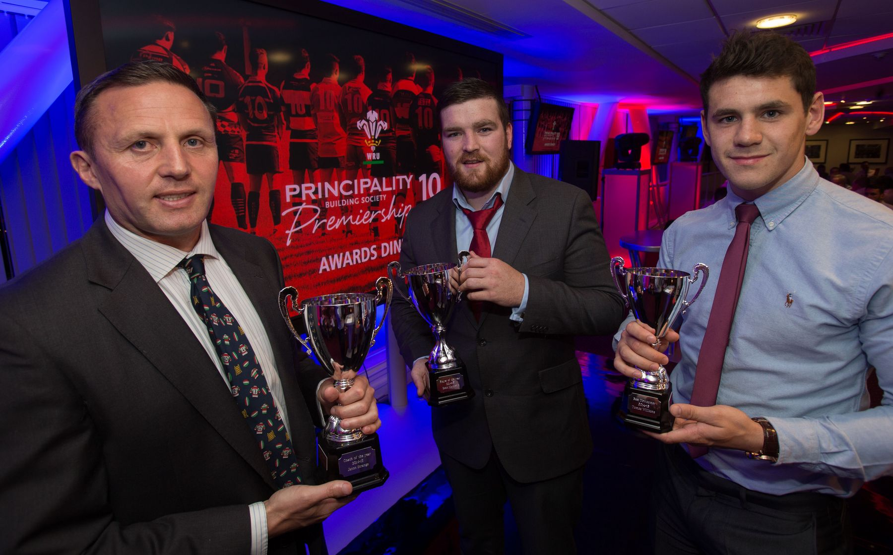 Trio pick up top awards at Premiership Awards Dinner