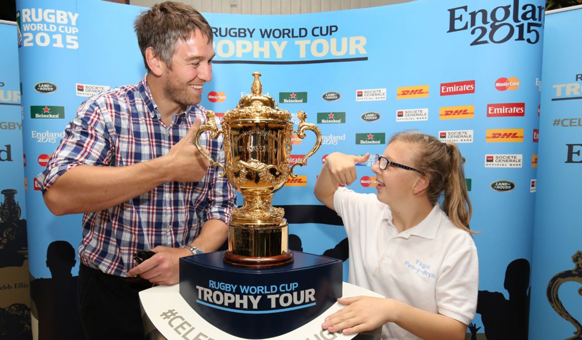 Trophy Tour continues around Wales