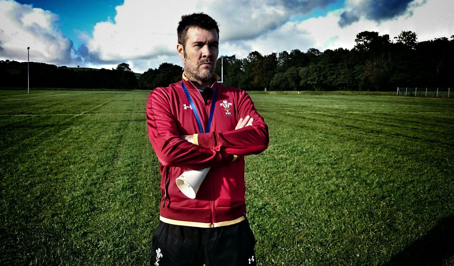 WRU coach Rhod Gilbert