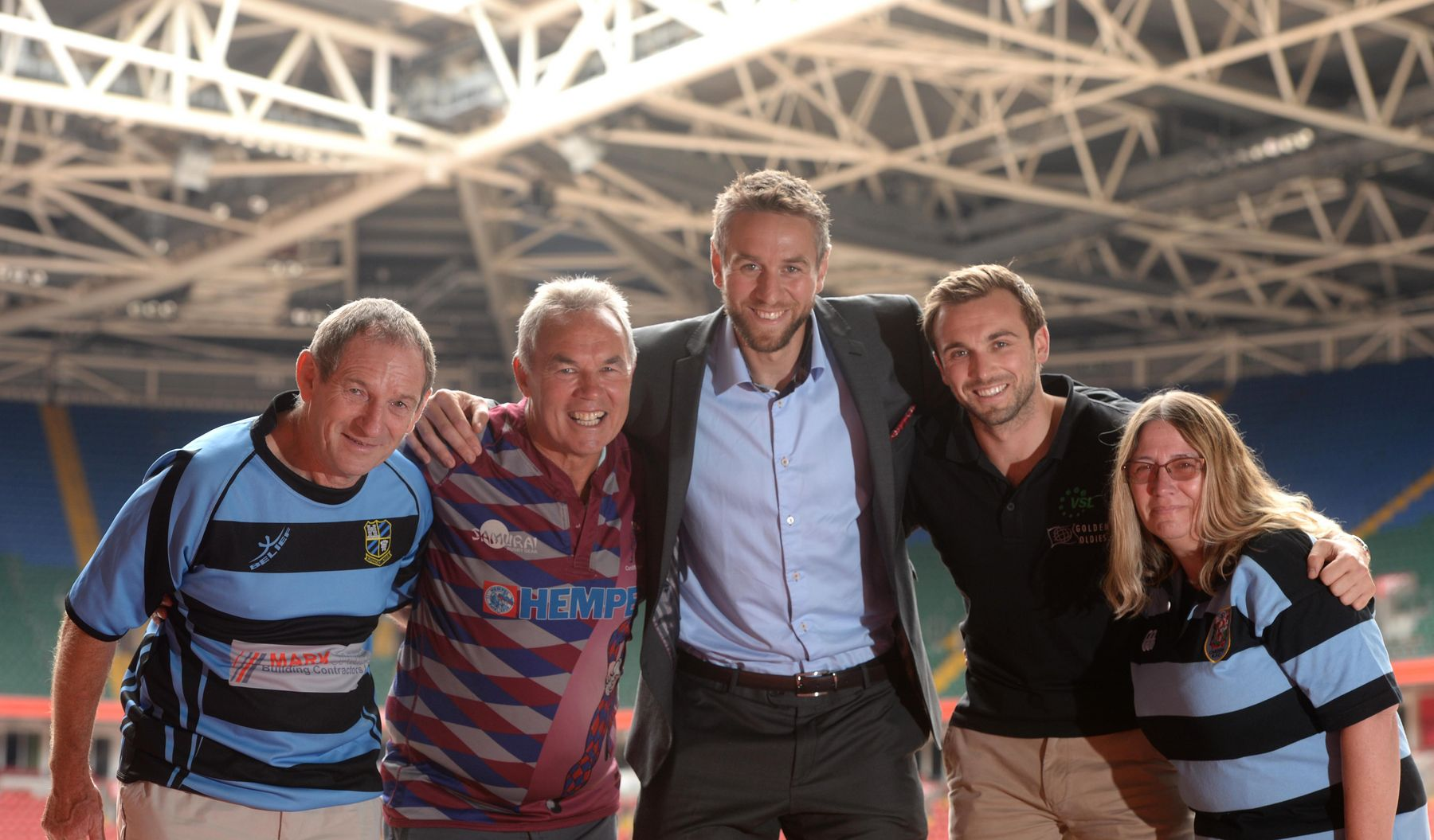 Welsh welcome for Golden Oldies